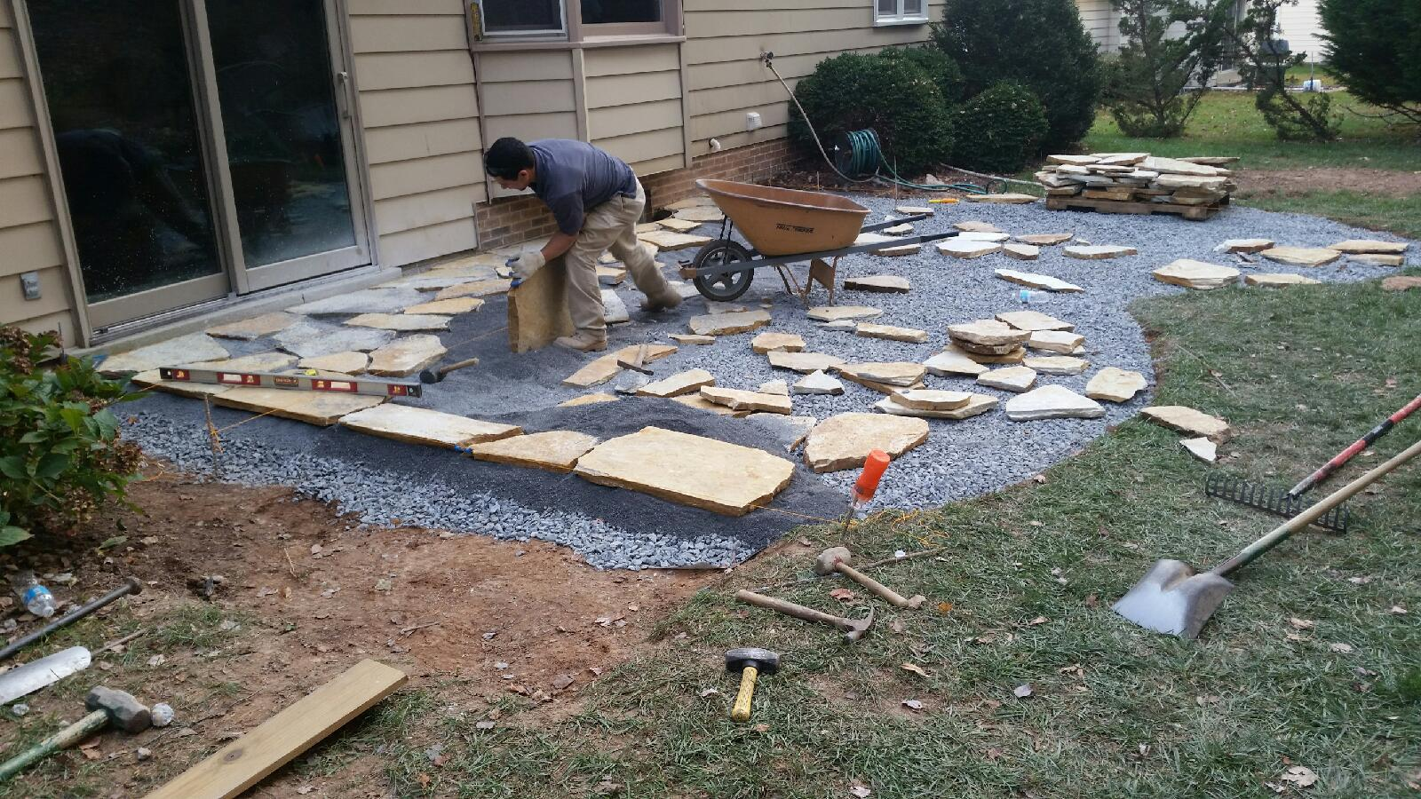 Maryland Hardscapes Contractor American Landscaping Inc